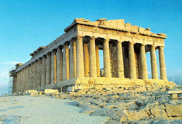 Парфенон классический период древней